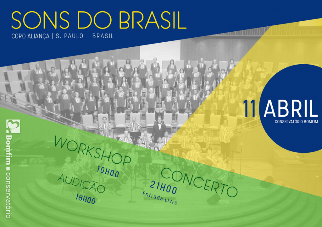 Sons do Brasil - Workshop e Concerto Conservatório Bomfim