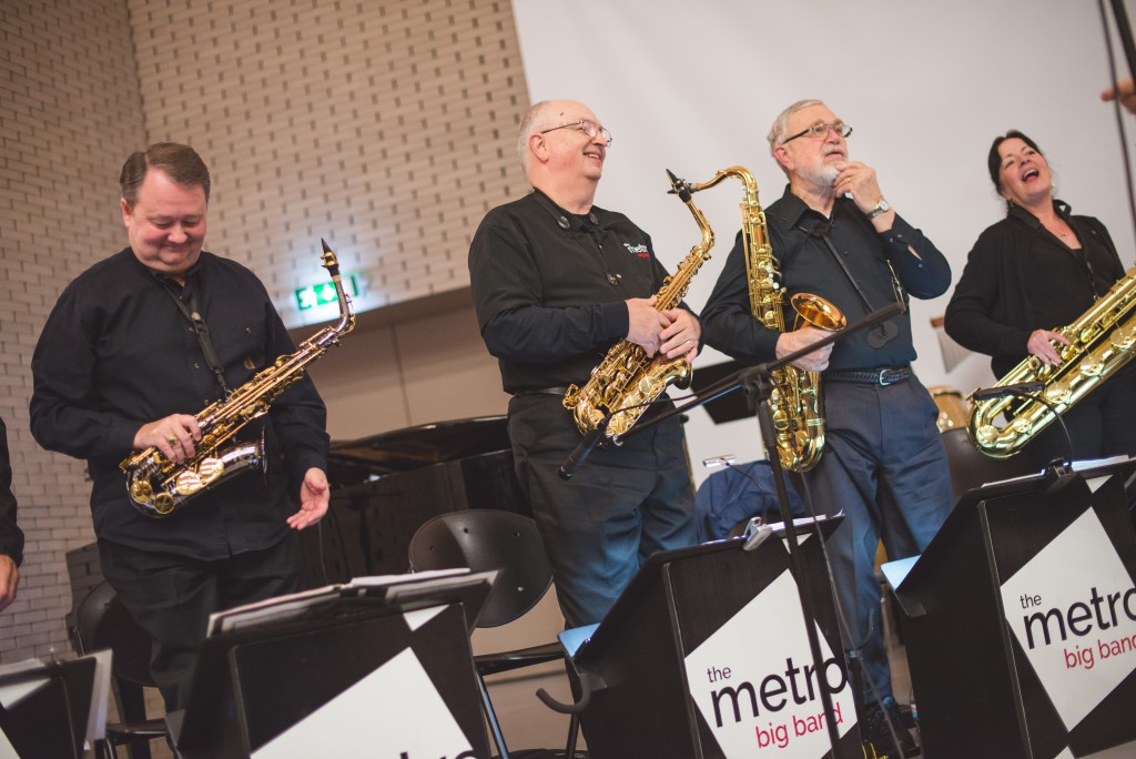 Metro Big Band (EUA) Jazz Ensemble Conservatório Bomfim